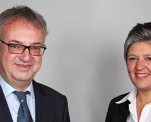 Rechtsanwälte Dr. Raimund Bürger und Beate Lenke